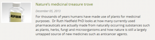 Nature's medicinal treasure trove